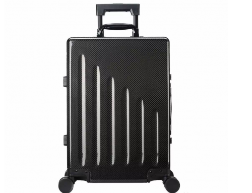 Have you seen an ultra-light carbon fiber suitcase with a load of 150 kg?